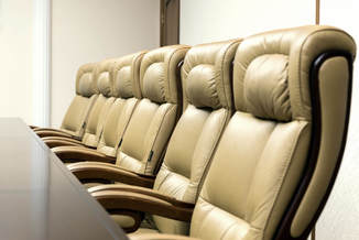 Office Cleaning Service - Upholstered Seating - Leather